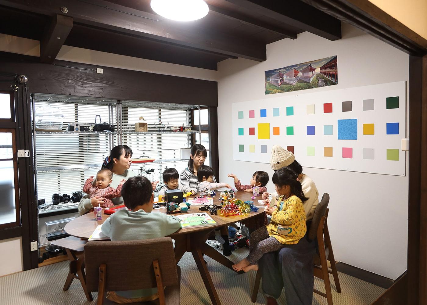 町家教室と設備2